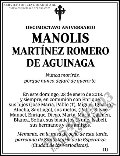 Manolis Martínez Romero de Aguinaga